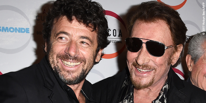 Patrick Bruel et Johnny Haliday